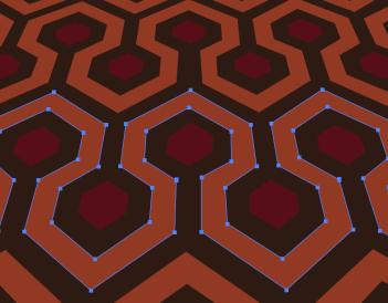 Creating floor pattern in Illustrator