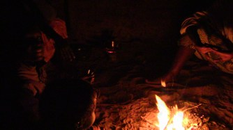 We spend the hours right after waking and right before sleeping huddled around fires and coals warming our hands