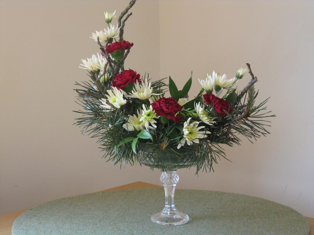 Crescent Arrangement Hannahs Floral Design