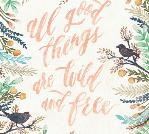 WILD, FREE, and FULL OF JOY
