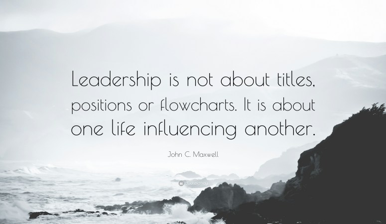 Influence and Leadership 101