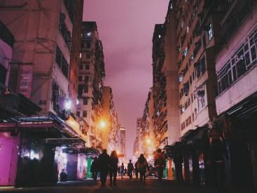 Fa Yuen Street - Golden Hour