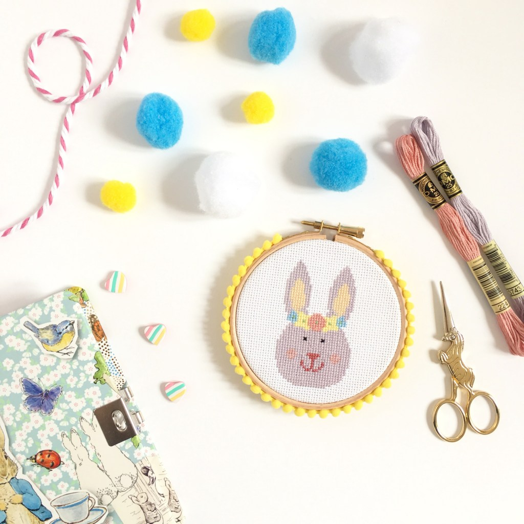 easter-bunny-cross-stitch-hoop