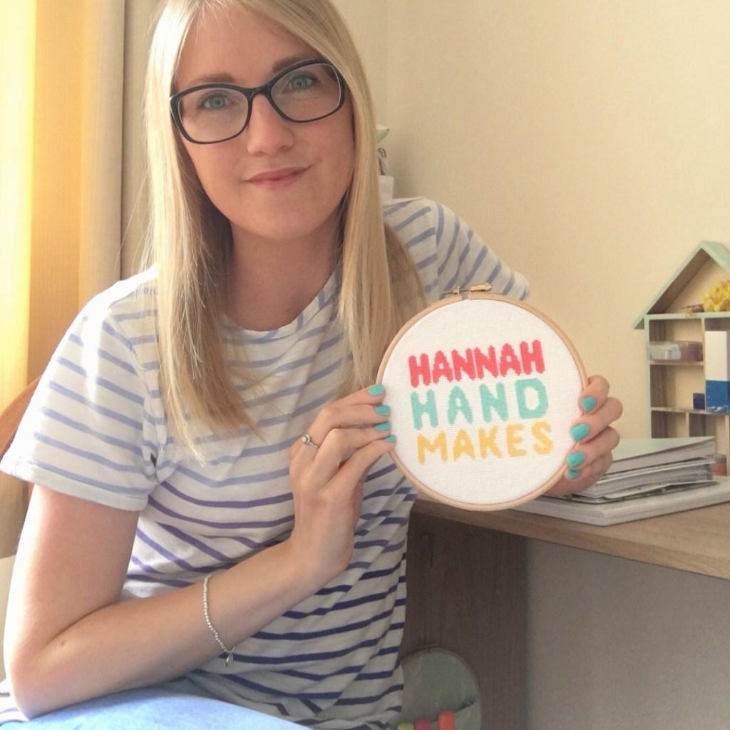 Hannah from Hannah Hand Makes