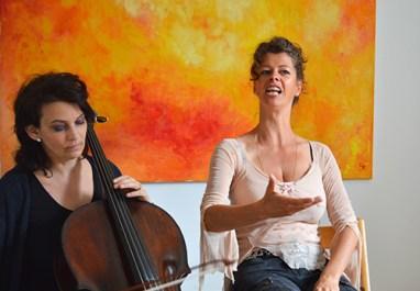 Clara Kenner und Hannah Hohloch