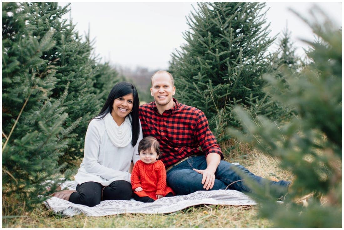 Christmas Tree Farm Mini Sessions | Annapolis Family Photographer