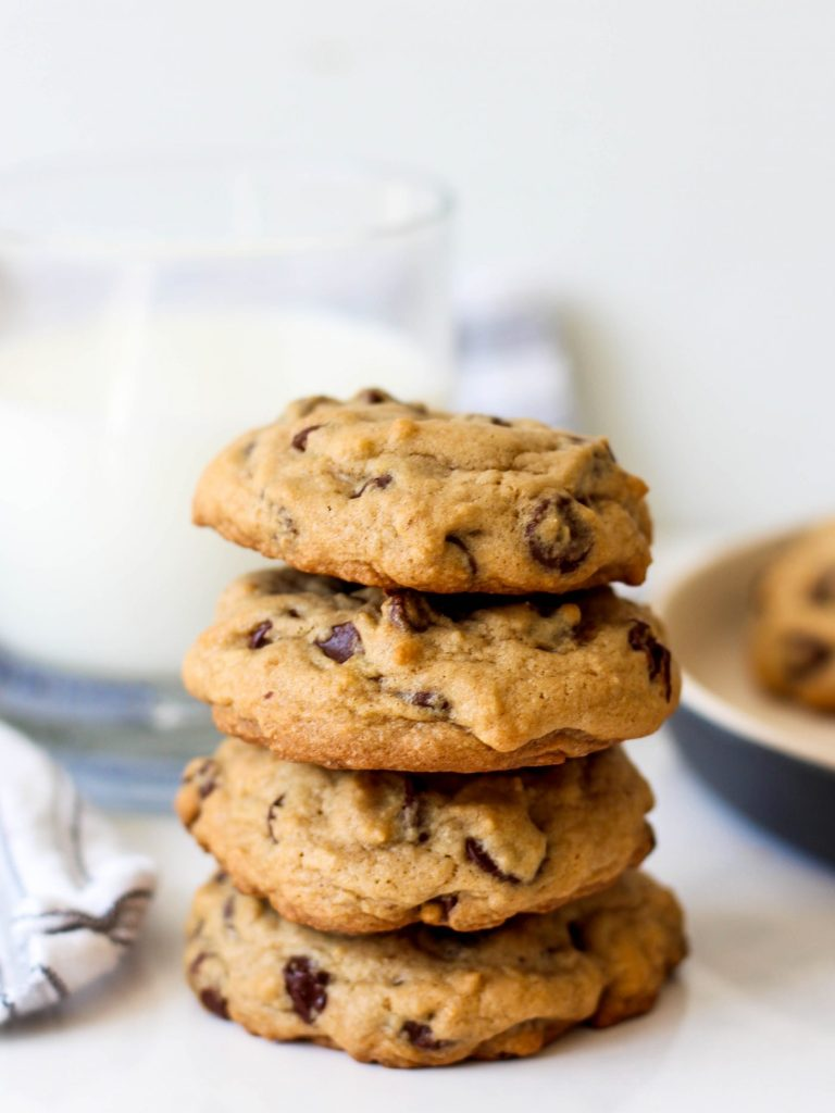 Warm, chewy and gooey - the best chocolate chip cookies that you'll ever make. The recipe is a crowd pleaser, so be prepared to share it with friends!