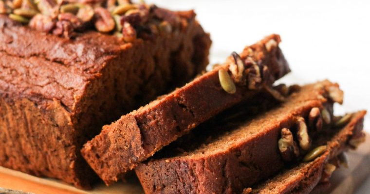 Healthy Cinnamon Sweet Potato Bread