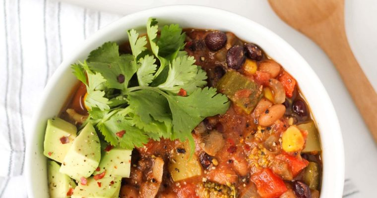 The Ultimate Vegetarian Chili