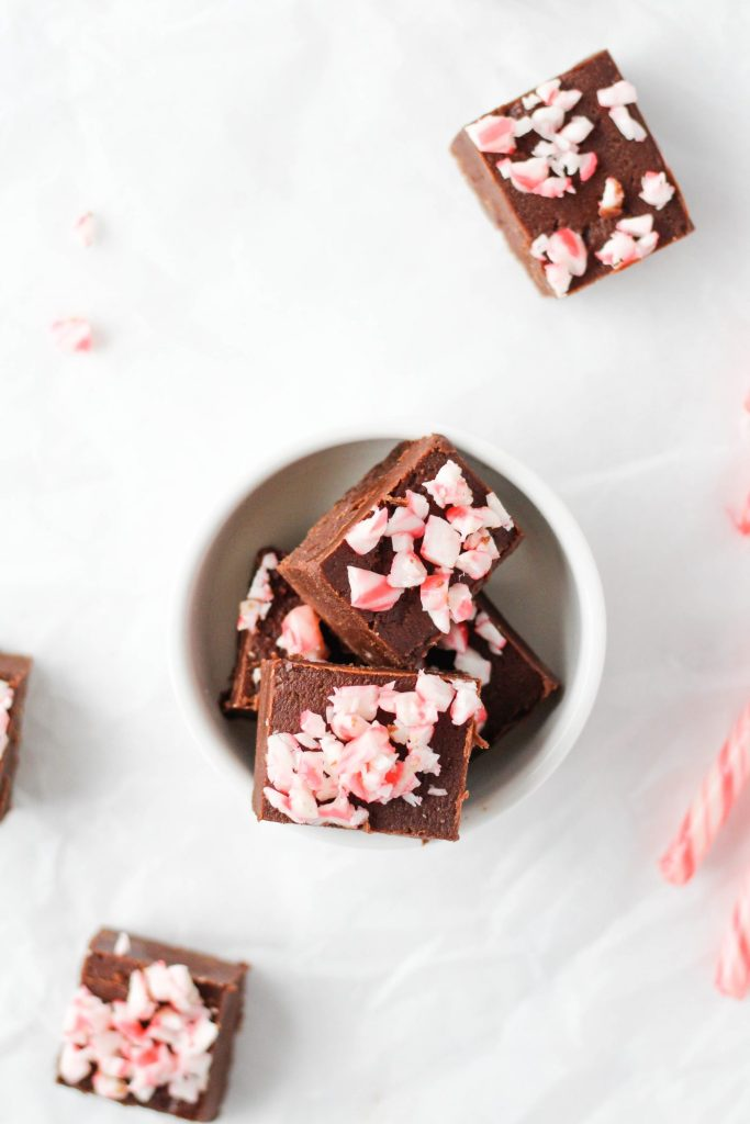 This vegan chocolate fudge is made with simple, real food ingredients but tastes just as decadent and rich as traditional fudge.