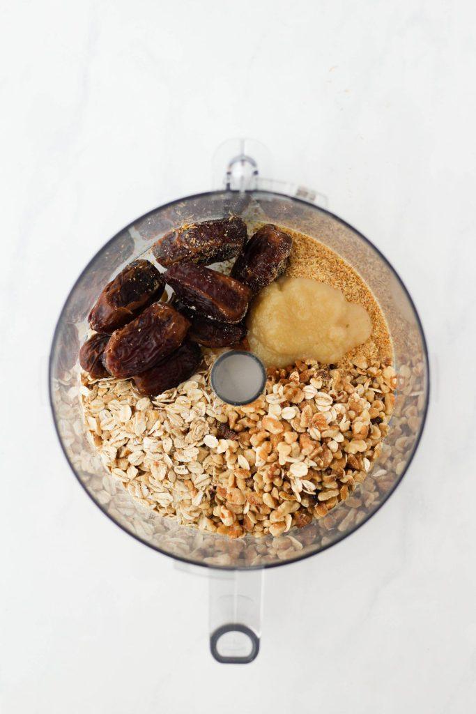 Salted Caramel Energy Bites ingredients