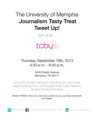 Fundraising + TweetUp Flyer