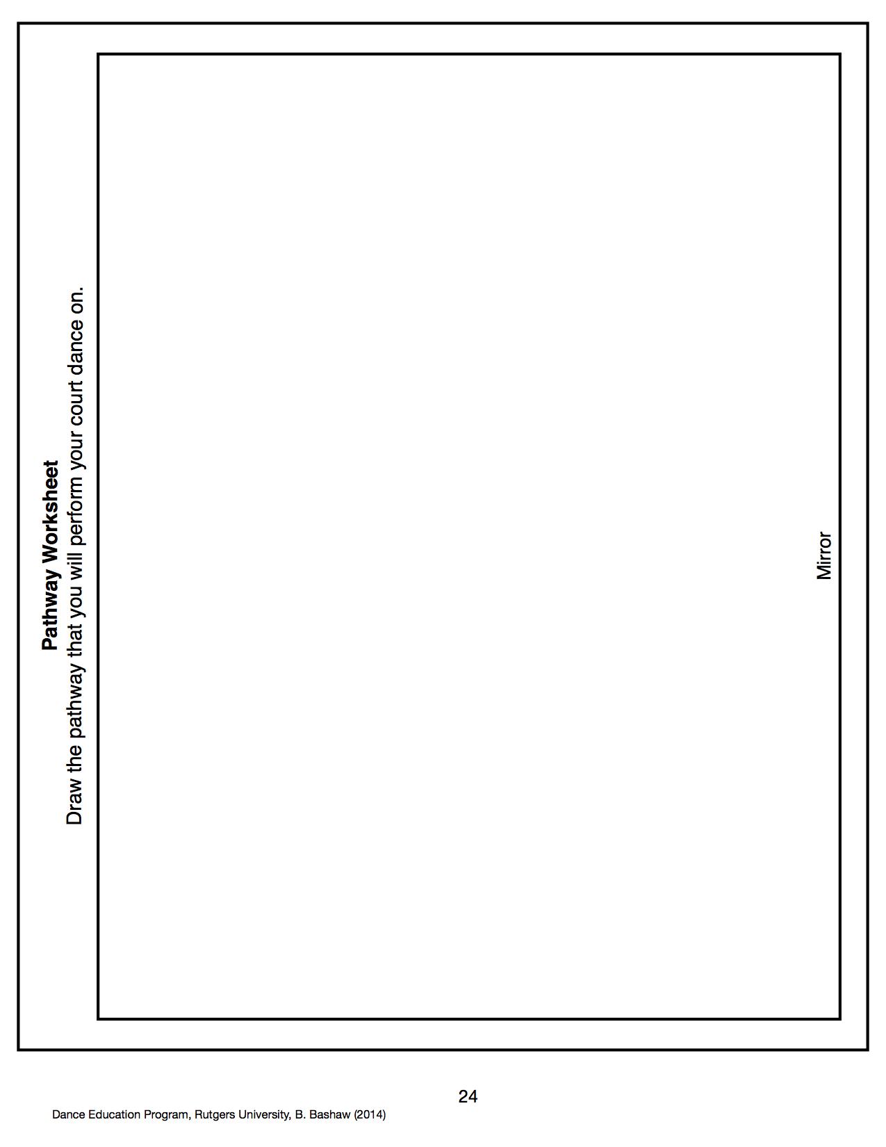 Sample Worksheets And Artifacts Hannah Sego