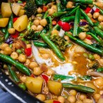 Red Thai Chickpea Curry