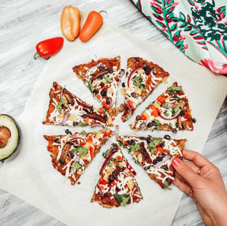 Sweet Potato Pizza   Vegan & Gluten-Free