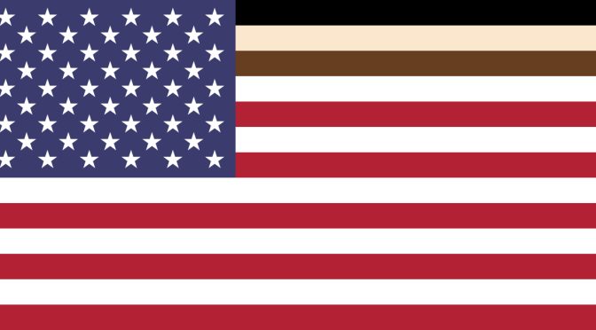 New Inclusive Flag of the United States of America