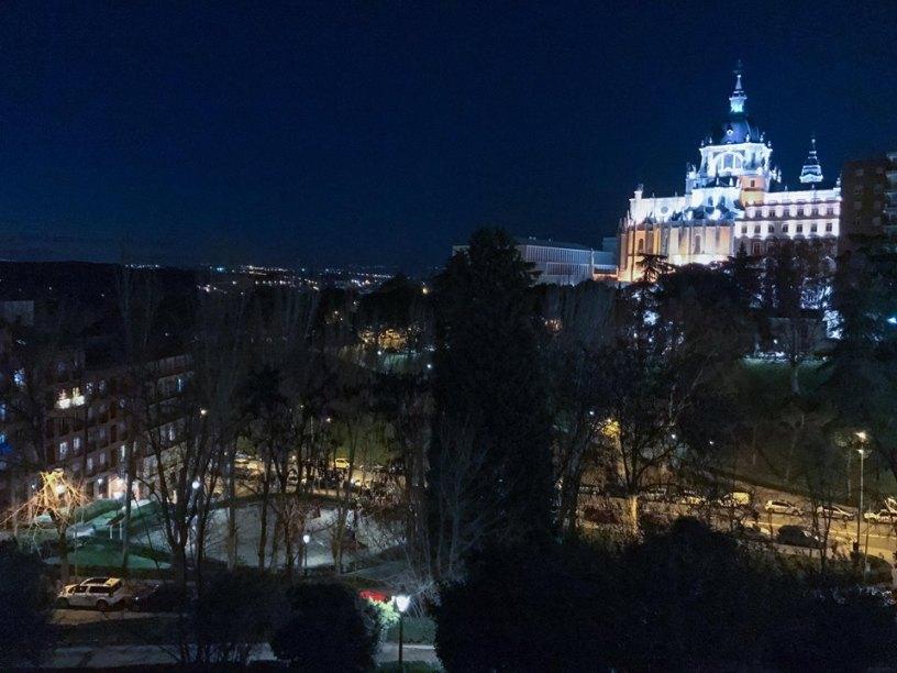 The view from Calle de Bailen