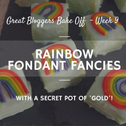 Great british bake off Fondant Fancies