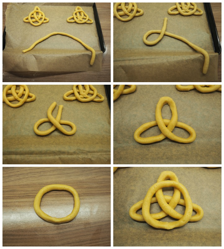 bake off jumbles celtic knot biscuits