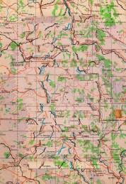 Vintage Map Glitch 2