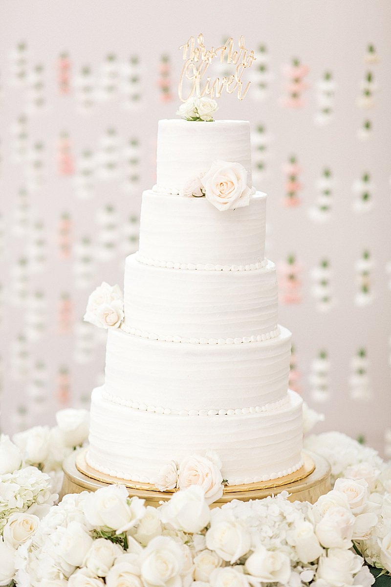 Hannah Way Photography, luxury wedding, luxury wedding photographer, dfw wedding photographer, knotting hill place, wedding cake, wedding reception