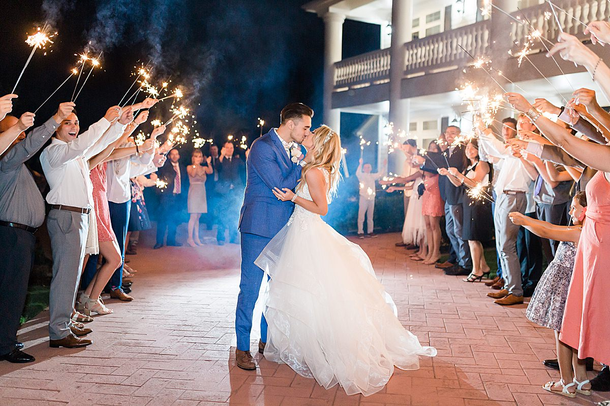 Hannah Way Photography, luxury wedding, luxury wedding photographer, dfw wedding photographer, sparkler exit