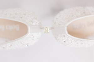 ring shot- Bella Bella shoes - Bella Bella bridal shoes -Hannah Way Photography - Dallas wedding photographer - luxury weddings - luxury wedding photographer - dfw wedding photographer - best wedding photographer - Dallas best wedding photographer - detail photos -