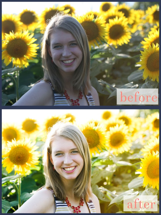 edit, don't fret it: before and after details of editing photos!