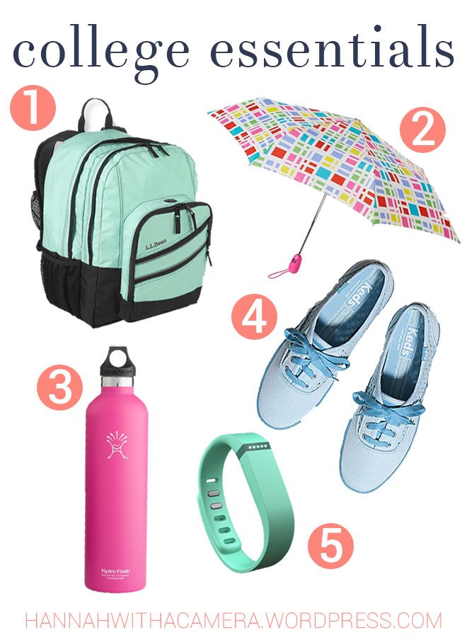 I've rounded up the top five college essentials for the best freshman year possible. Read more here: