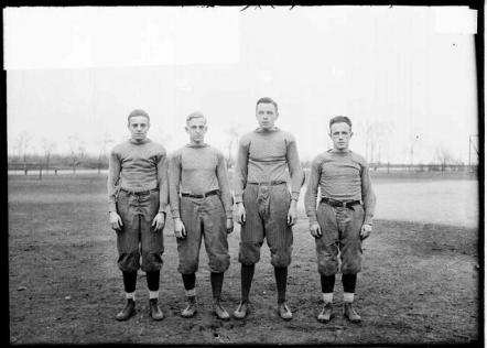 football players Lane 1913