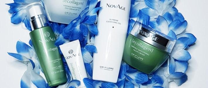 Testissä NovAge Ecollagen -ihonhoitosetti. Mitä tuloksia on syntynyt 2 viikossa?