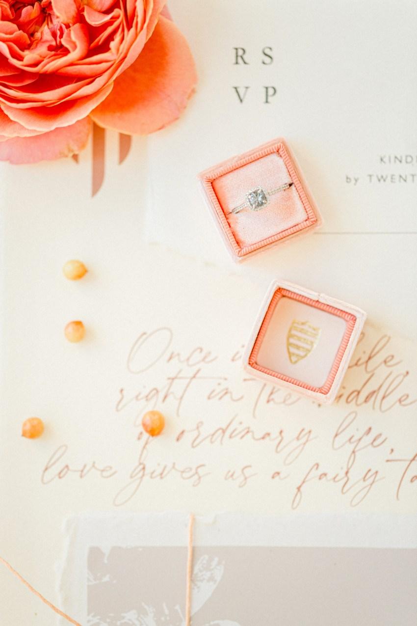 Bright white design wedding editorial stationery details in Grecotel Agreco Farms Crete Greece.