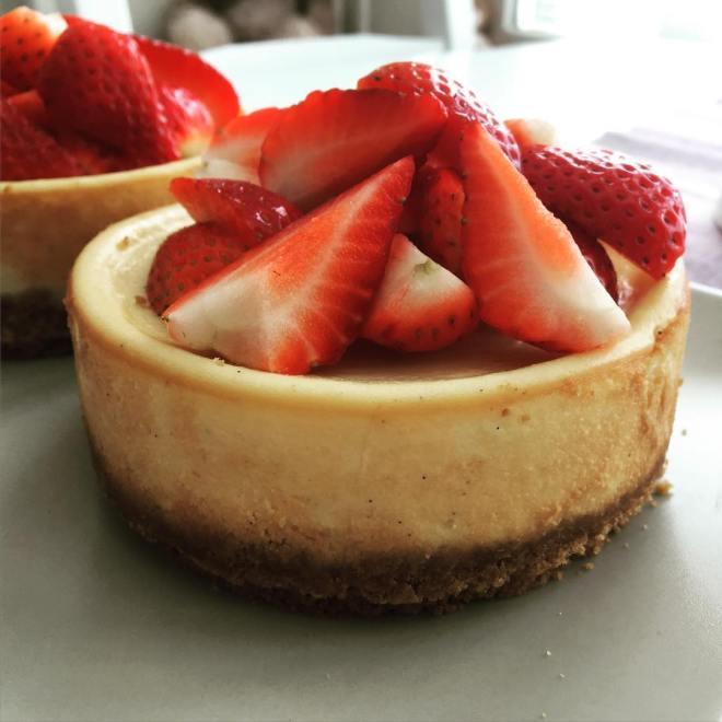 Då har man gjort en New York cheesecake för första gången