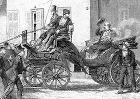 1874 Versuch der Roten, Kanzler Bismarck zu töten