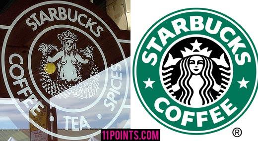 Unterschwellige Botschaft im Starbucks-Logo