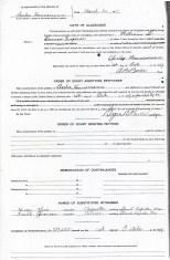Allegiance Oath of Chas Hanneman