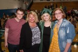 Mom Sue with Stevie, Ruby and Samantha Hanneman