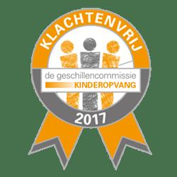 Logo Geschillenvrij 2017
