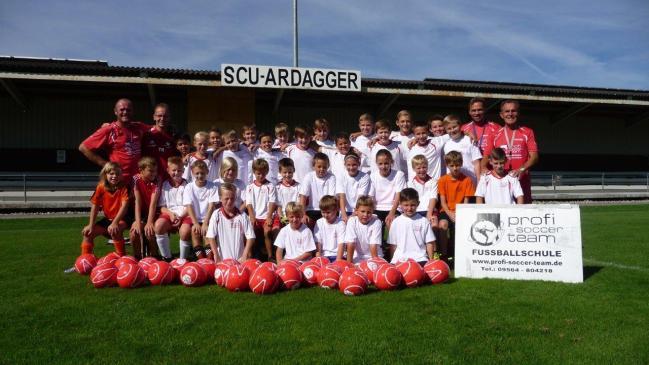 Profi-Soccer-Team