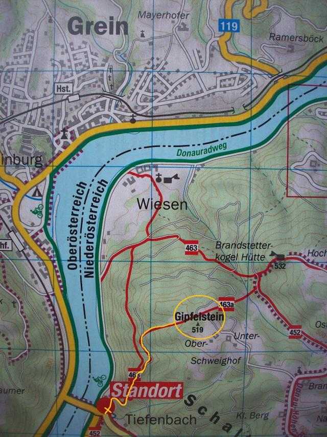 Karte-Matrassteig