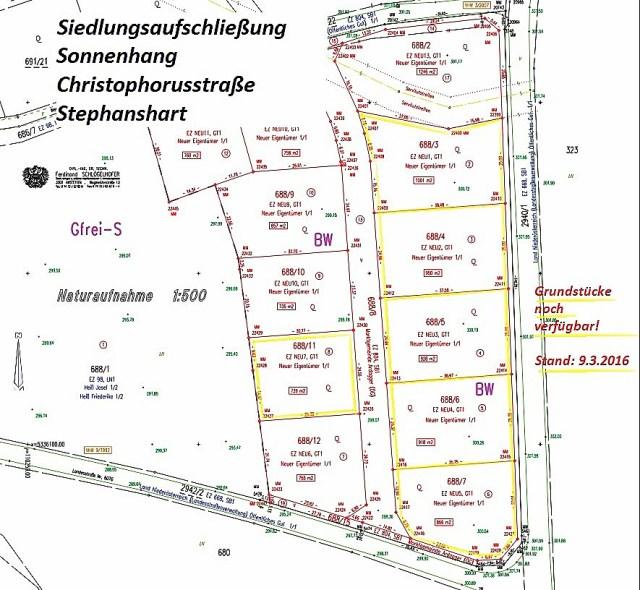 Siedlungsaufschließung-Donatistraße-Stephanshart