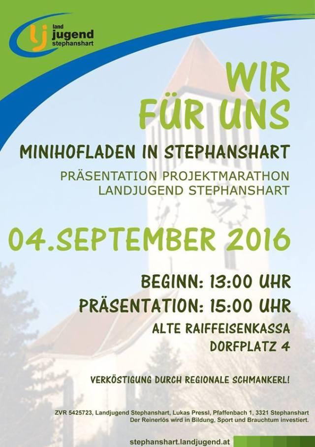 Einladung-Präsentation-Projektmarathon-Stephanshart-2016