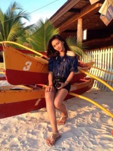 Nicole Valerie Dapanas at Rosal Beach Resort, Glan, Sarangani Province, Philippines