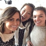 Meeting Lisa Wilkinson