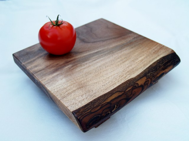 Live edge walnut cheese board