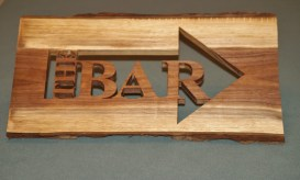 The bar sign