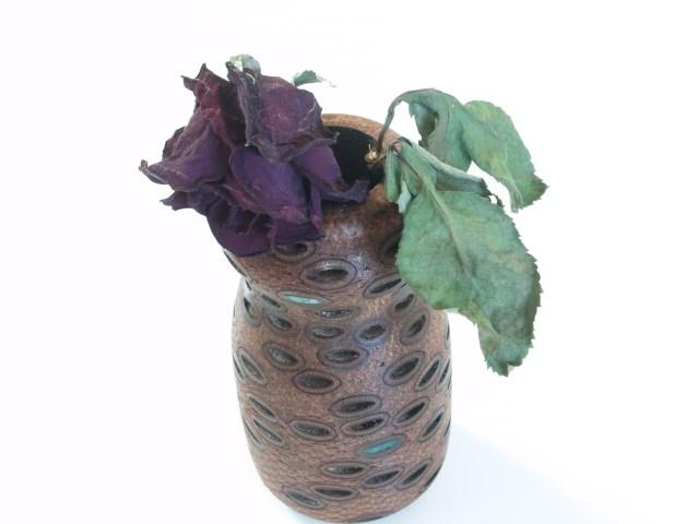 Banksia nut vase