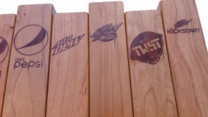 Taco Bell tap handles