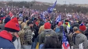 WATCH: Crowd Size Swells for 'SAVE AMERICA' Rally in Washington, DC