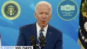 BIDEN on ??? 'There Are More Doors, More Doses… Risk, More Cases, More Desks, More Deaths'